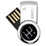 4 GB EMTEC S360 For Him silber USB 2.0