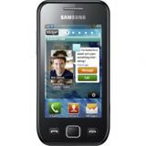 Samsung Smartphone Wave 525 metallic black