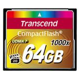 64 GB Transcend Compact Flash TypI 1000x Retail
