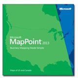 Microsoft Mappoint 2013 European Maps DVD