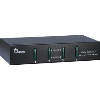 Inter-Tech AS-41UA 4-fach VGA-KVM-Switch