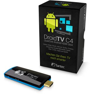 Fantec DroidTV C4 Quad Core Android TV HDMI, QuadCore 4x 1,6Ghz, 4GB Flash, 1GB