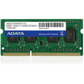 8GB ADATA Premier DDR3L-1600 SO-DIMM CL11 Single