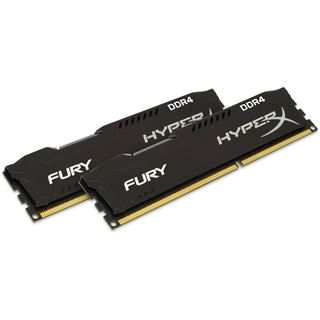 16GB HyperX FURY Rev.2 schwarz DDR4-2400 DIMM CL15 Dual Kit