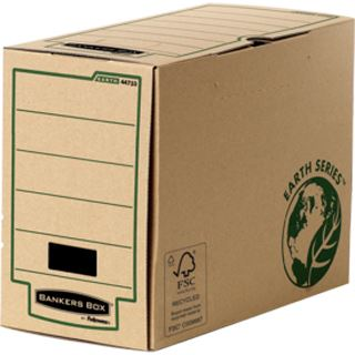 Fellowes BANKERS BOX EARTH Archiv-Schachtel, braun, (B)200mm
