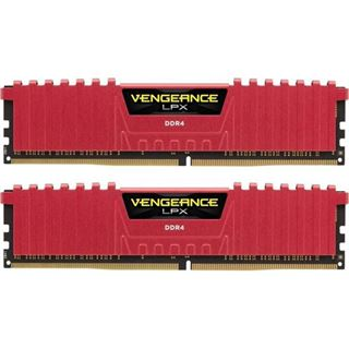 8GB Corsair Vengeance LPX rot DDR4-3866 DIMM CL18 Dual Kit