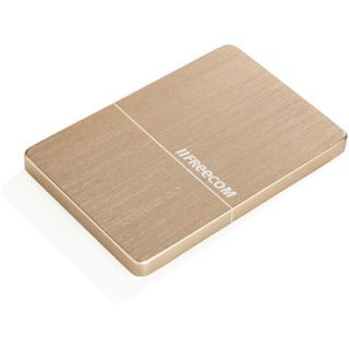 "1000GB Freecom Mobile Drive Metal Slim 56371 2.5"" (6.4cm) USB 3.0 gold"