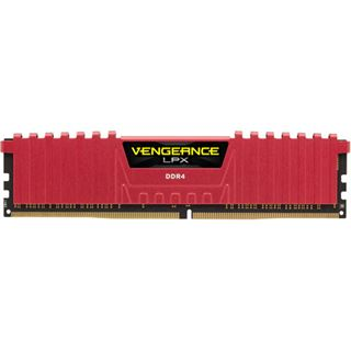 32GB Corsair Vengeance LPX rot DDR4-3600 DIMM CL16 Quad Kit