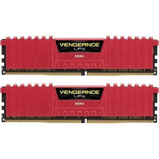 16GB Corsair Vengeance LPX rot DDR4-4000 DIMM CL19 Dual Kit