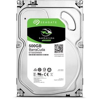 "500GB Seagate BarraCuda ST500DM009 32MB 3.5"" (8.9cm) SATA 6Gb/s"