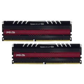 32GB TeamGroup Delta Series LED rot DDR4-3000 DIMM CL16 Dual Kit