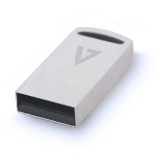16 GB V7 Flash Drive Nano silber USB 3.0