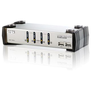 ATEN Technology CS1734A 4-fach VGA-KVM-Switch