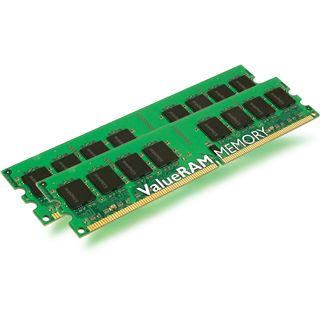 2GB Kingston ValueRAM HP DDR2-400 regECC DIMM CL3 Dual Kit