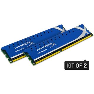 4GB Kingston HyperX DDR2-800 DIMM CL4 Dual Kit