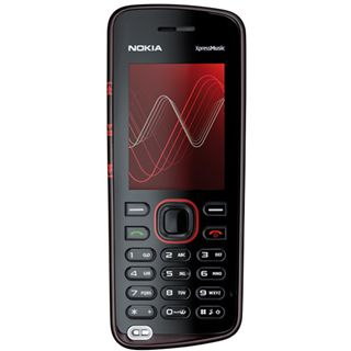 Nokia 5220 XpressMusic, red incl.512