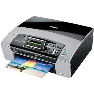 Brother DCP-585CW Multifunktion Tinten Drucker 6000x1200dpi USB2.0