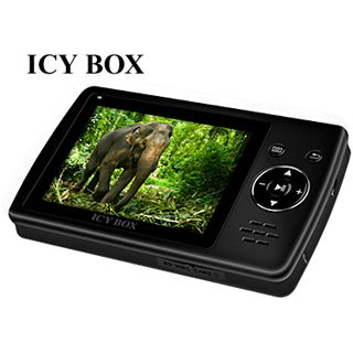 "3,5""(8,89cm) ICY BOX TV LCD"