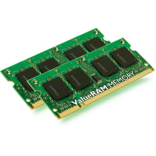 DDR2 2x4096MB SO-DIMM Kingston ValueRam DDR2-800 CL6 Kit