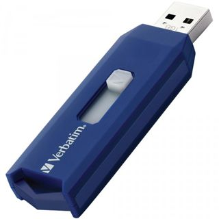2 GB Verbatim Store `n` Go Drive New Retractable blau USB 2.0