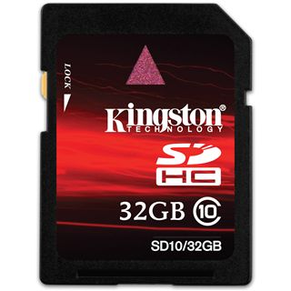 32 GB Kingston Standard SDHC Class 10 Retail