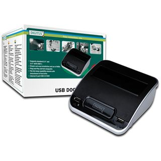 Digitus HDZub GEHW Docking Station mit USB Hub
