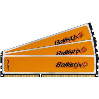 6GB Crucial Ballistix DDR3-1600 DIMM CL8 Tri Kit