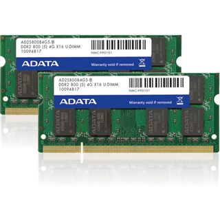 4GB ADATA Value DDR2-800 SO-DIMM CL5 Single