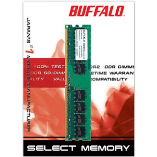Buffalo RAM DDR2 1GB / 800Mhz Select 128Mx8
