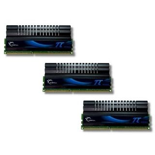 6GB G.Skill PI Series DDR3-1600 DIMM CL6 Tri Kit