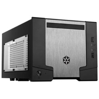 Silverstone Sugo SG07B Window ITX Tower 600 Watt schwarz