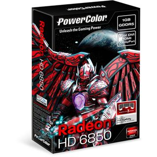 VGA 1024MB Powercolor Radeon HD 6850 GDDR5 PCIe