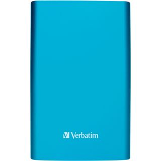 "1000GB Verbatim Store and Go Portable 53036 2.5"" (6.4cm) USB 3.0 hellblau"