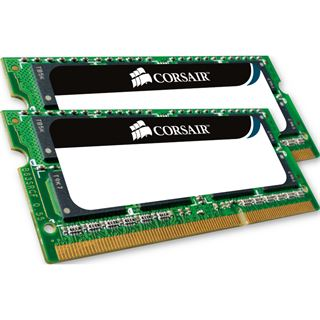 8GB Corsair ValueSelect DDR3-1066 SO-DIMM CL7 Dual Kit