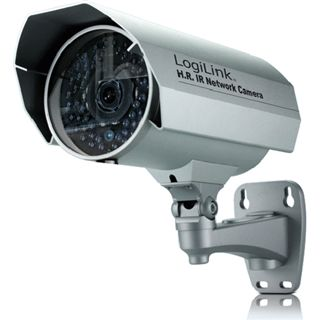 LogiLink Fast Ethernet Outdoor IP Kamera H.264 mit Zoom