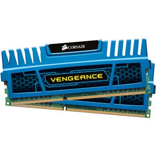 4GB Corsair Vengeance blau DDR3-1600 DIMM CL9 Dual Kit