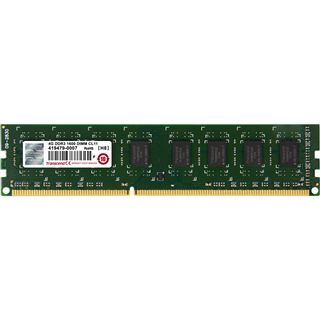 4GB Transcend JetRAM DDR3-1600 DIMM CL11 Single