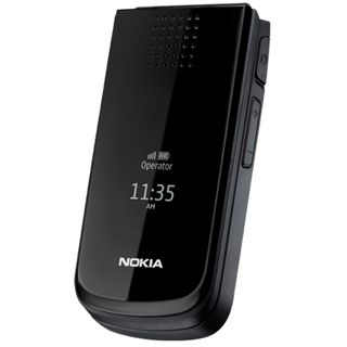 Nokia 2720 fold, Handy, black