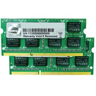 8GB G.Skill SQ Series DDR3-1333 SO-DIMM CL9 Dual Kit
