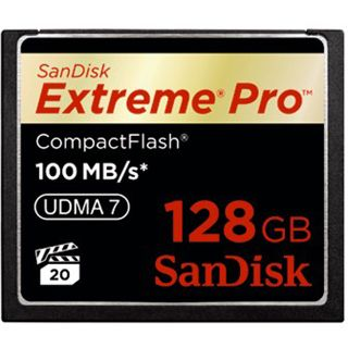 128 GB SanDisk Extreme Pro Compact Flash TypI 667x Retail