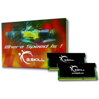 8GB G.Skill SK Series DDR3-1600 SO-DIMM CL9 Dual Kit