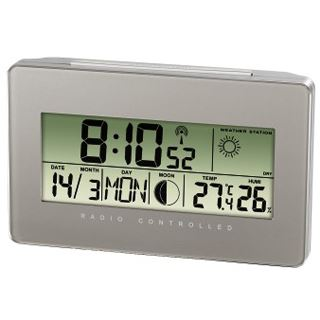 Hama Thermo-/Hygrometer TH500, Silber