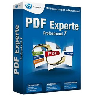 Avanquest PDF Experte 7.0 Professional 32/64 Bit Deutsch Office Vollversion PC (CD)