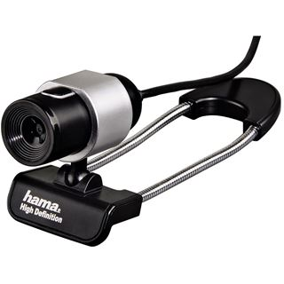 Hama Black Tube Webcam USB