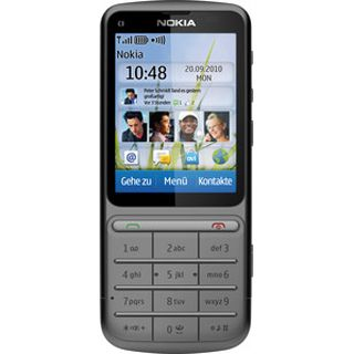 Nokia C3-01i Touch and Type (warm grey)