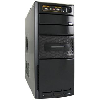 LC-Power 7000B Midi Tower 420 Watt schwarz