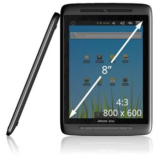 """8"""" (20,32cm) Arnova 8 G2 Home Tablet 8GB Android 2.3 Dualtouch"""