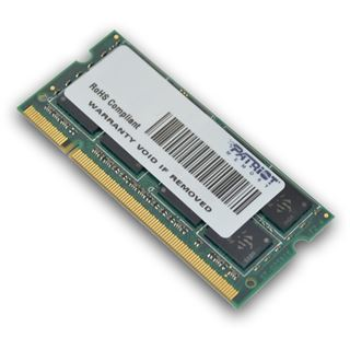 4GB Patriot Signature Line DDR2-800 SO-DIMM CL6 Single