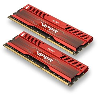8GB Patriot Viper 3 Series Venom Red DDR3-1600 DIMM CL9 Dual Kit