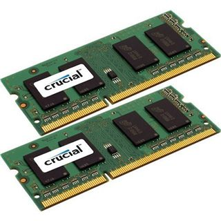 8GB Crucial Value DDR3-1600 SO-DIMM CL11 Dual Kit